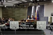 Rueda de prensa del Consejo de Ministros