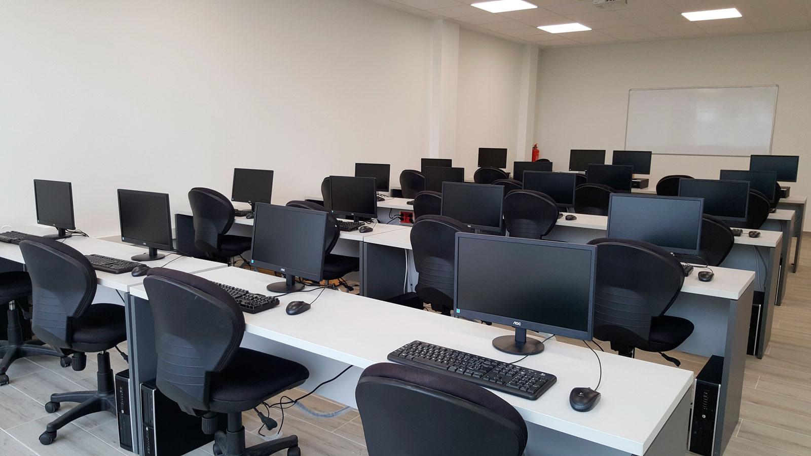 Alquiler Aulas Informatizadas Toledo
