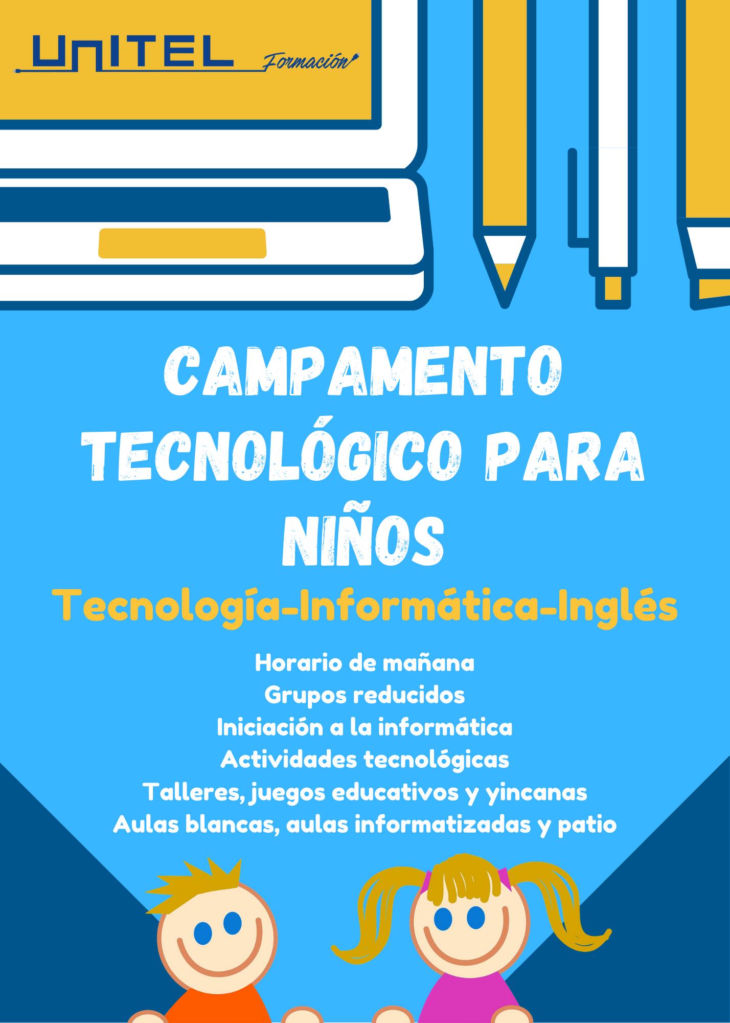 Campamento Tecnológico para niños en Toledo