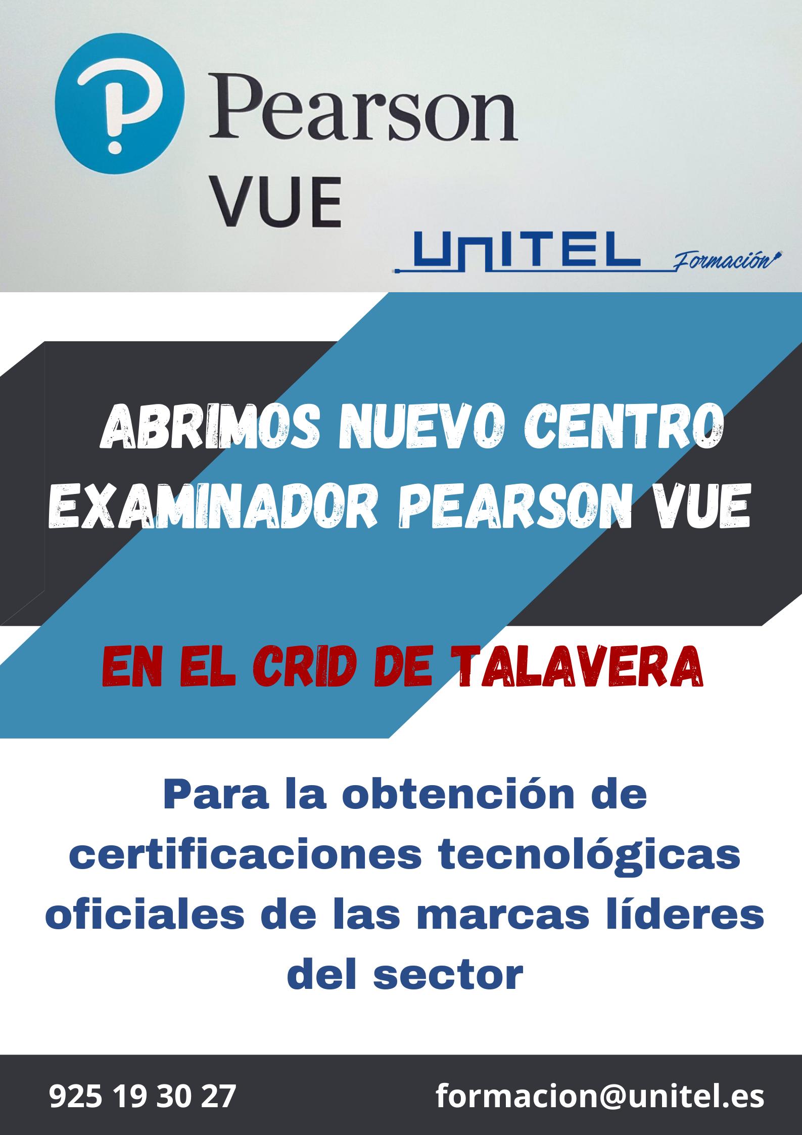 Pearson Vue en Talavera